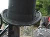 Black Funeral Hat